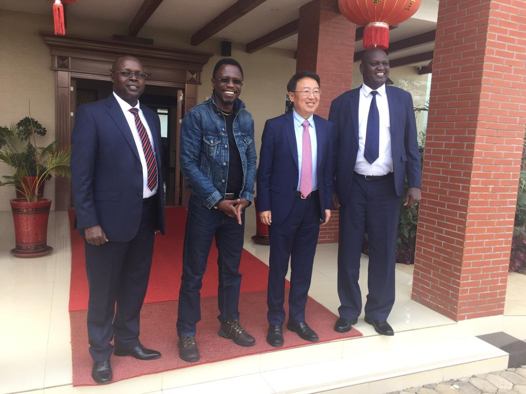 Vice-Chancellor meets with Chinese Ambassador to Kenya
