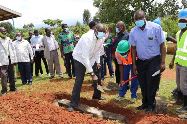 Moi University continues to carry out Corporate Social Responsibility Activities in Bungoma County