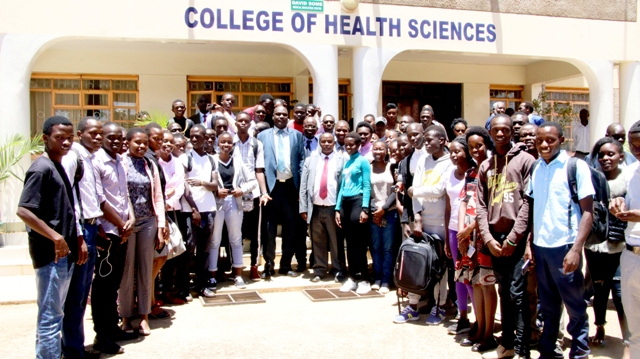 first years at College of Health of Sciences1
