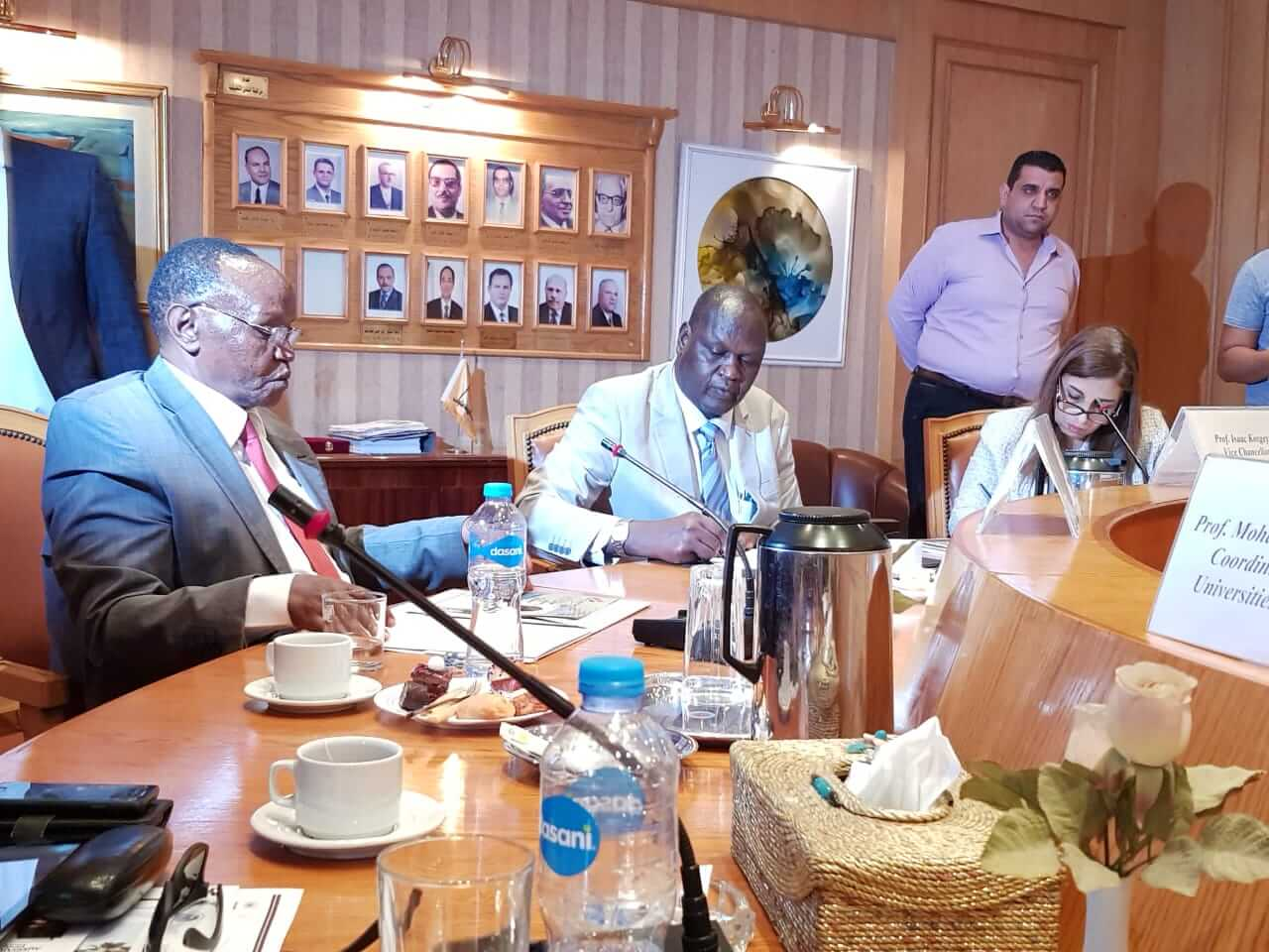 Moi University Signs MoU with Helwan University, Cairo, Egypt
