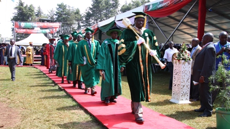 Moi University marks its 38th Graduation Ceremony