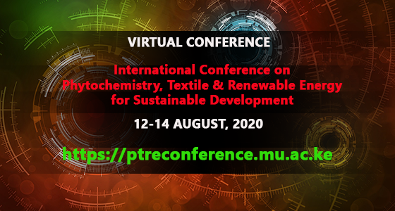 Virtual International Conference on Phytochemistry, Textile & Renewable Energy for Sustainable Development