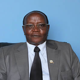 <br />Prof. Isaac N. Kimengi<br /> - DVC - Academics, Research and Extension