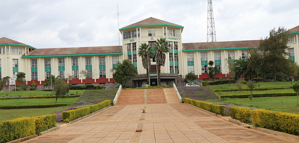 moi university administration building