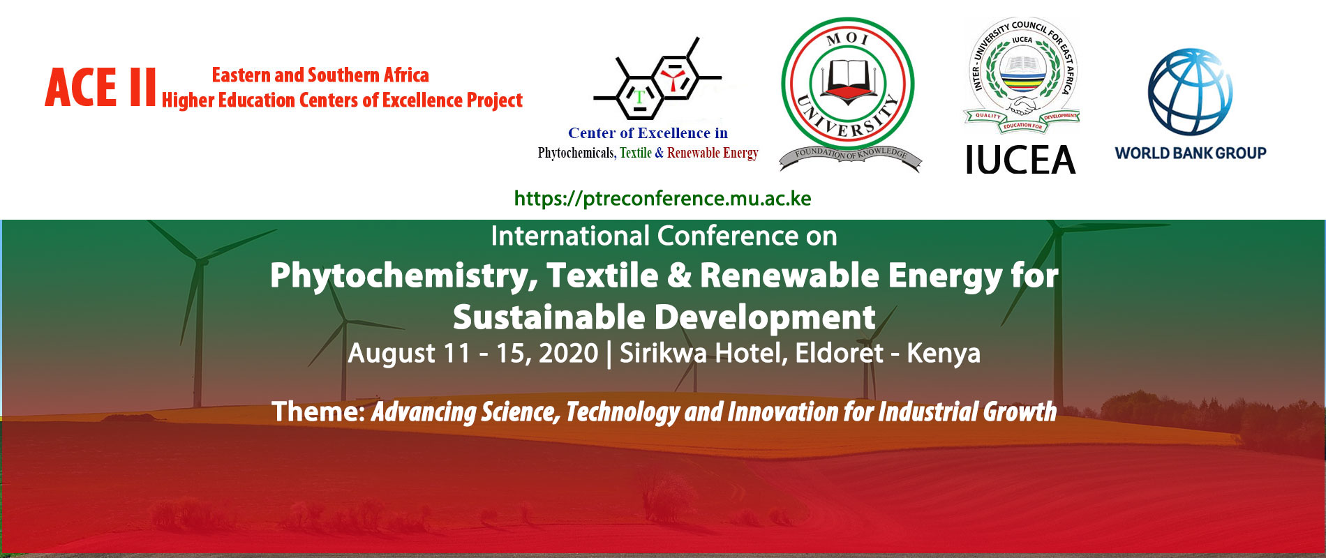 international conference on phytochemistry, textile & renewable energy website banner