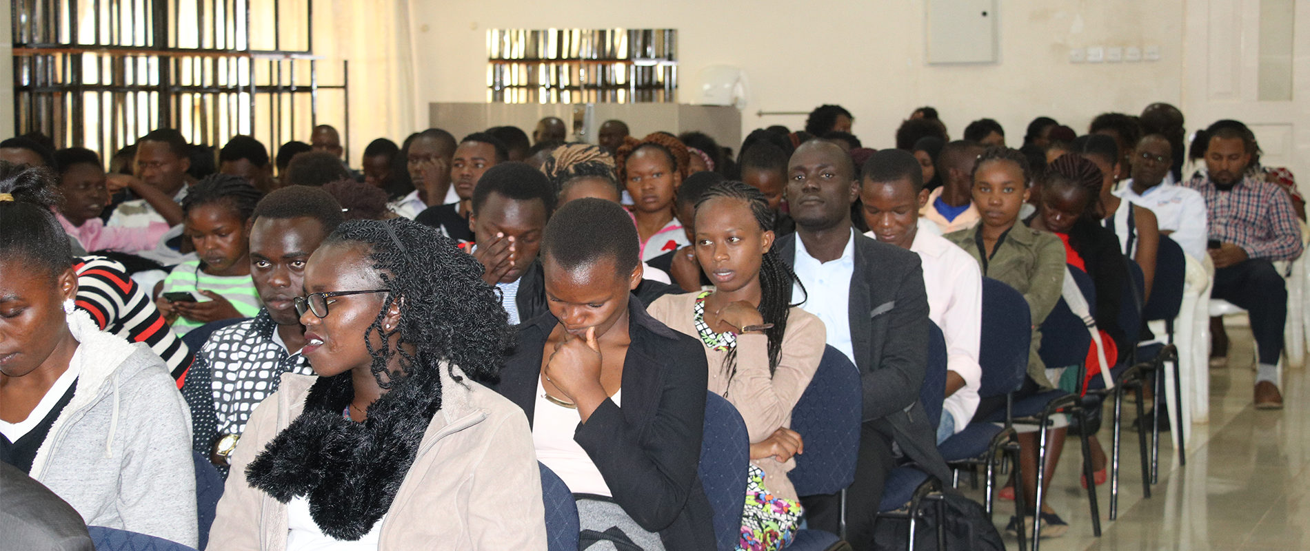 moi university health sciences first year students orientation