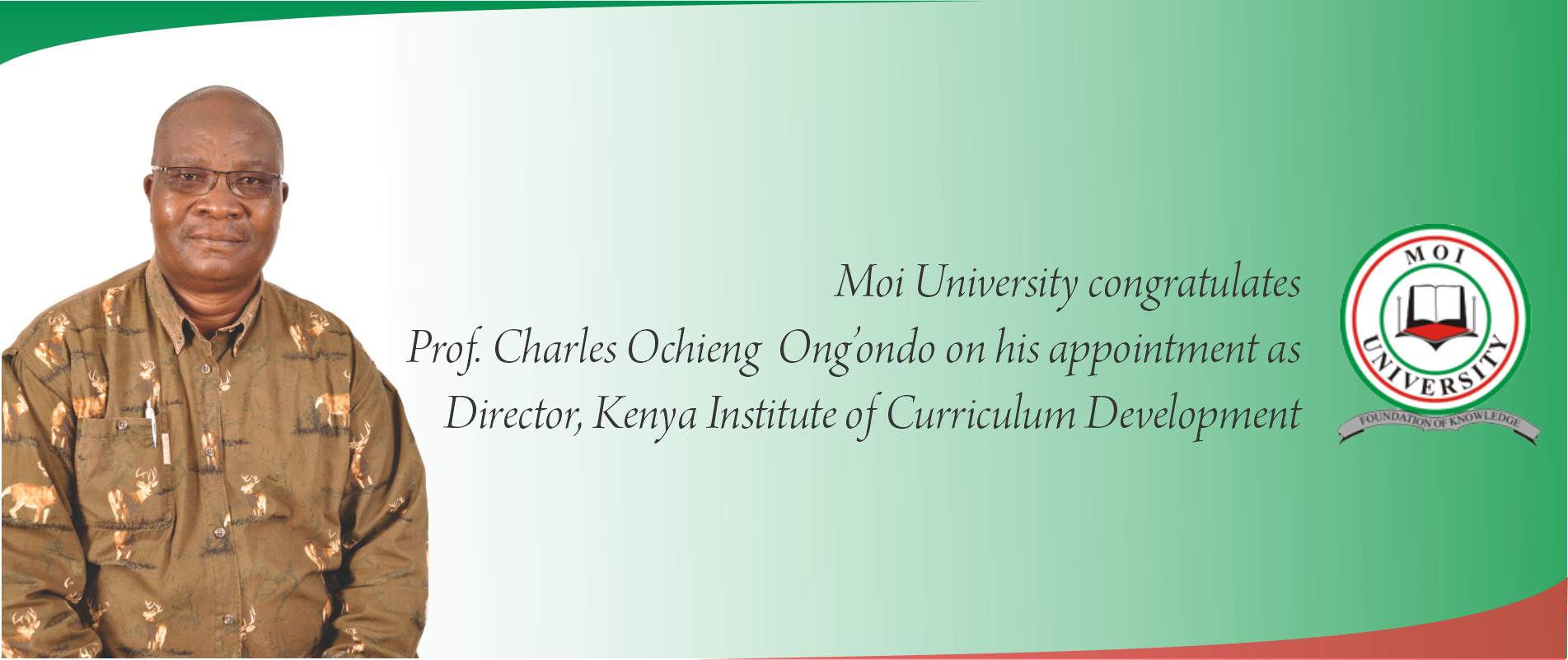 prof charles ong'ndo