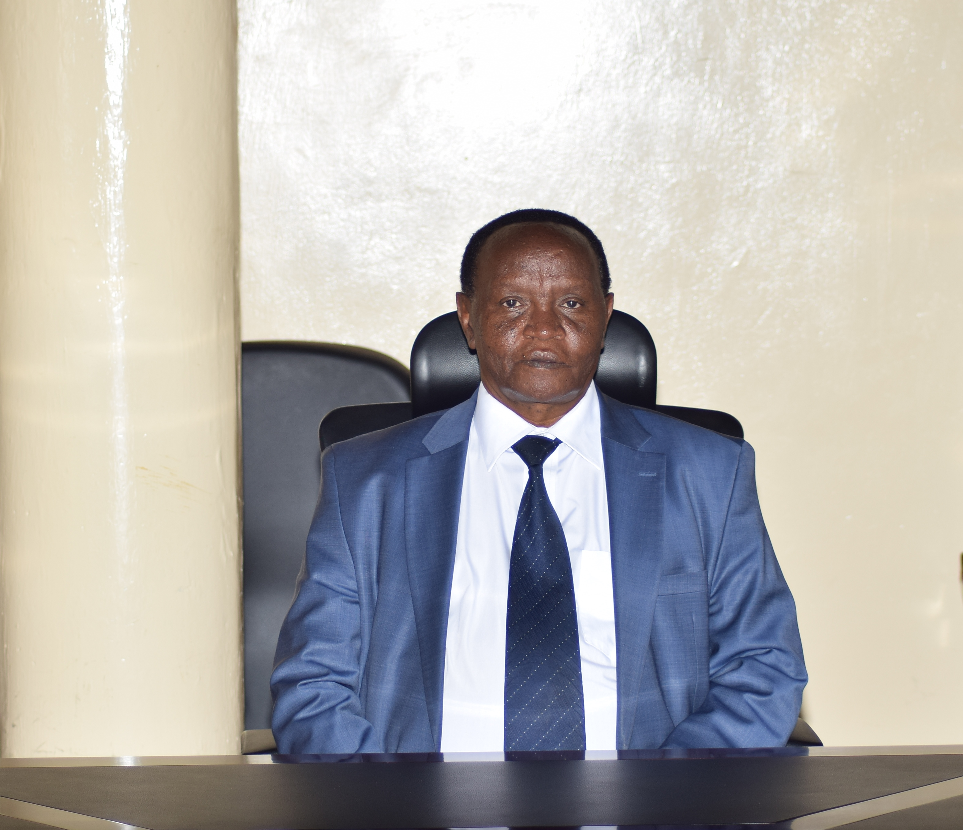 DVC Academics Research and Extension Prof. Isaac Kimengi